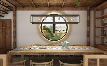 140平米田园风格餐厅图片大全
