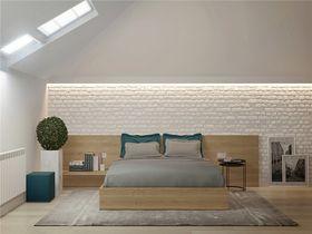 100平米三室一廳北歐風格臥室效果圖
