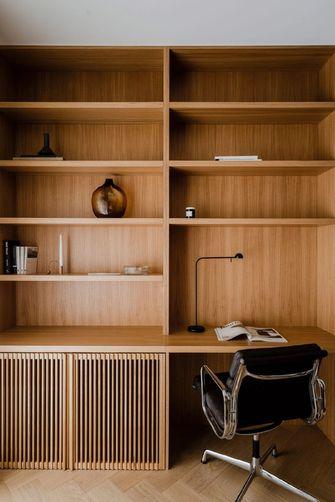 80平米三现代简约风格书房图片