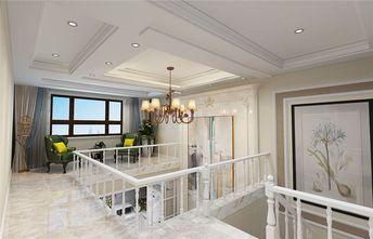 110平米三美式风格楼梯间图片大全
