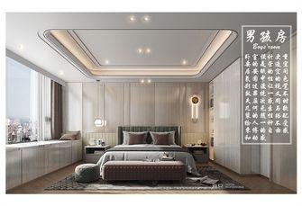 豪华型140平米复式现代简约风格卧室设计图