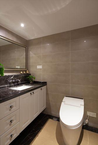 120平米三室一厅混搭风格卫生间装修效果图