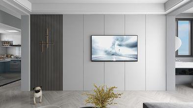 90平米一室一厅现代简约风格客厅装修案例