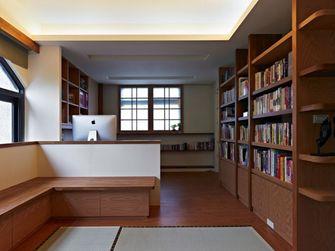 140平米四室三厅日式风格书房图