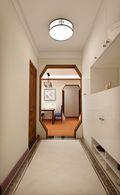 60平米三室一厅中式风格走廊图片大全