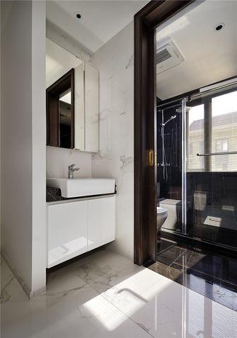 120平米三室一厅混搭风格卫生间图片大全