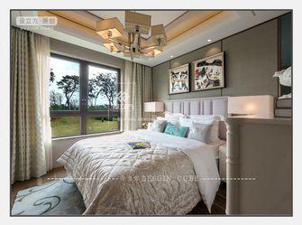 140平米三室一厅新古典风格卧室图