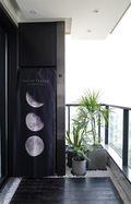 140平米三室两厅其他风格阳台效果图