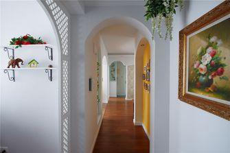 100平米三室两厅田园风格走廊图片