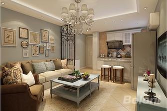 50平米新古典风格客厅欣赏图