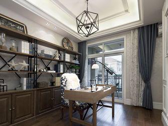 140平米四室两厅地中海风格书房图片