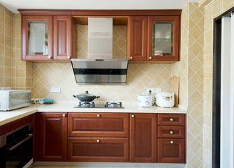50平米一室两厅美式风格厨房欣赏图