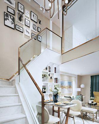 120平米欧式风格楼梯间欣赏图