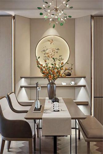 70平米现代简约风格餐厅装修图片大全