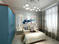 100平米三室两厅地中海风格卧室图片大全