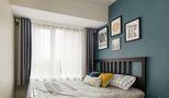 80平米欧式风格卧室背景墙图