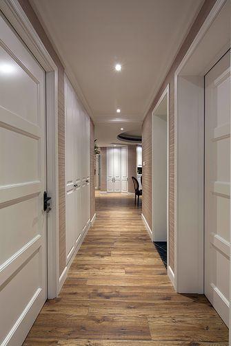 120平米三室一厅混搭风格玄关图