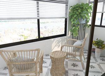 100平米三室两厅混搭风格阳光房设计图