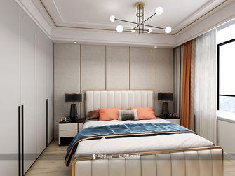 130平米三室两厅欧式风格卧室设计图
