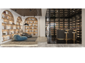 豪华型140平米复式现代简约风格影音室装修案例