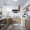 60平米北欧风格厨房欣赏图