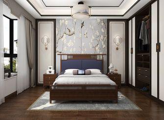 120平米三室三厅中式风格卧室欣赏图