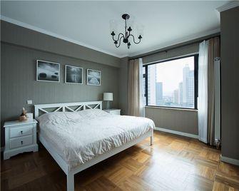 90平米公寓地中海风格卧室效果图