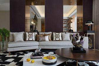 富裕型140平米三室两厅现代简约风格客厅效果图