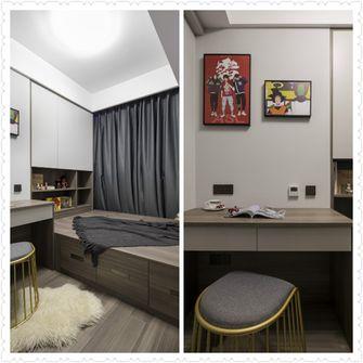 80平米三室两厅中式风格书房装修案例