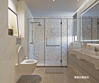 140平米复式中式风格卫生间图