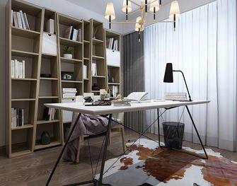 140平米四现代简约风格书房装修图片大全