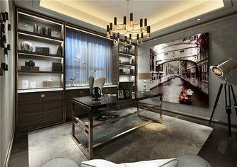 130平米四室两厅新古典风格书房设计图