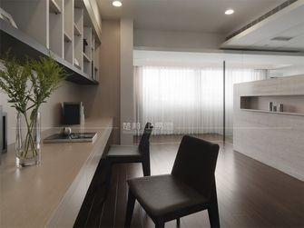 130平米三室一厅日式风格书房装修效果图
