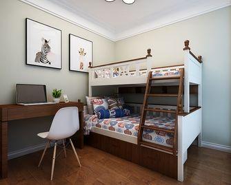80平米三现代简约风格儿童房图