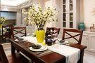 130平米三室三厅中式风格餐厅欣赏图