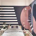 90平米三室一厅英伦风格其他区域图片大全