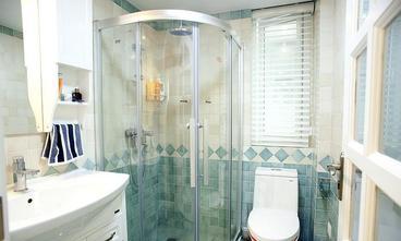 经济型60平米一室两厅地中海风格卫生间装修案例