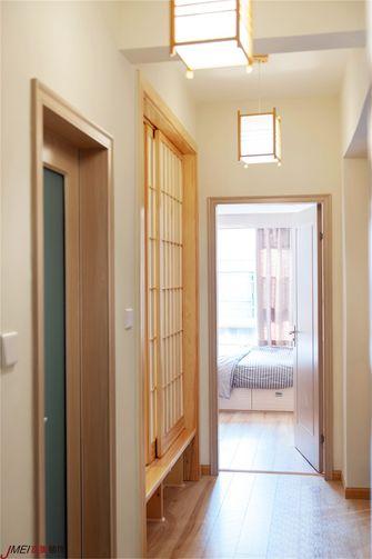 110平米三室两厅日式风格走廊装修图片大全