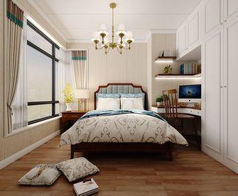 120平米四室两厅田园风格卧室装修效果图