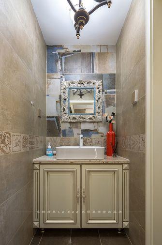 120平米三室五厅法式风格卫生间装修图片大全
