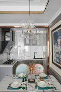 130平米三室两厅地中海风格厨房设计图