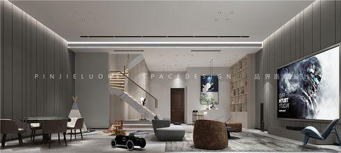 140平米复式现代简约风格影音室装修案例