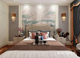 140平米四室三厅美式风格卧室装修图片大全