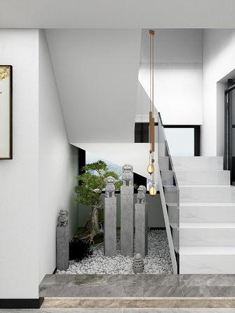 140平米复式现代简约风格阁楼装修案例