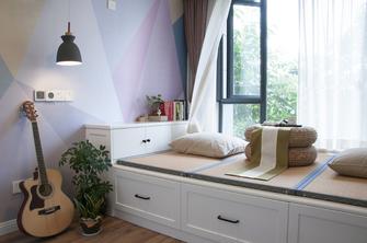80平米三室一厅混搭风格卧室图