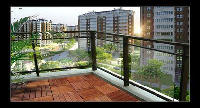 20万以上140平米别墅东南亚风格阳台欣赏图