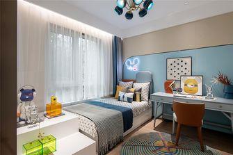 130平米三室两厅现代简约风格儿童房装修案例