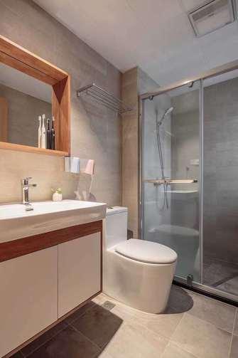 90平米三室三厅宜家风格卫生间图片