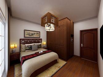 60平米一室两厅中式风格卧室装修图片大全