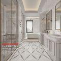 140平米四室三厅法式风格卫生间装修案例